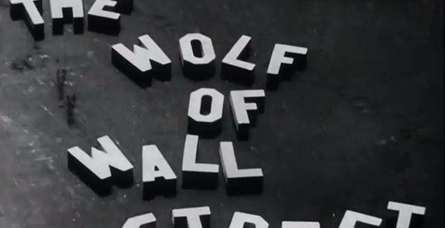 COUP DE COEUR CINEMA DE SOS ADDICTIONS : LE LOUP DE WALL STREET (1929)
