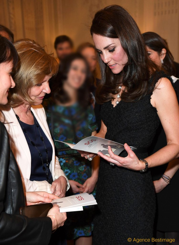 Kate Middleton et Hélène Toulet (SOS Addictions)